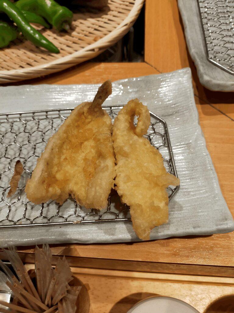 天ぷらまきの-きす,かれい