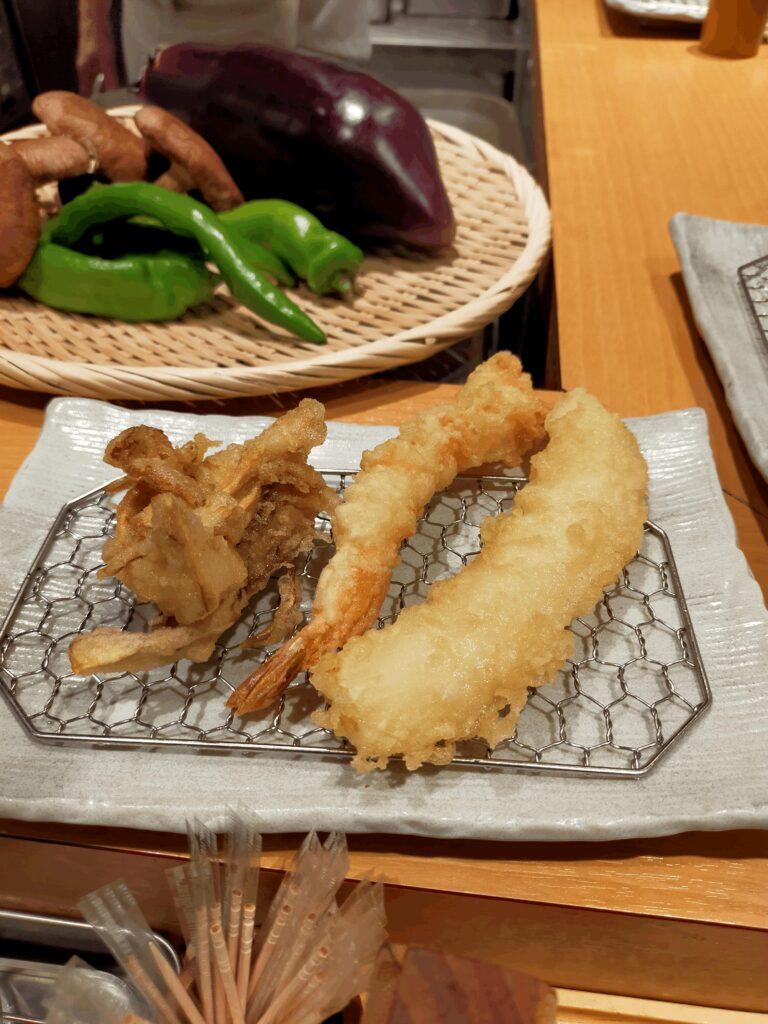 天ぷらまきの-舞茸,えび,いか