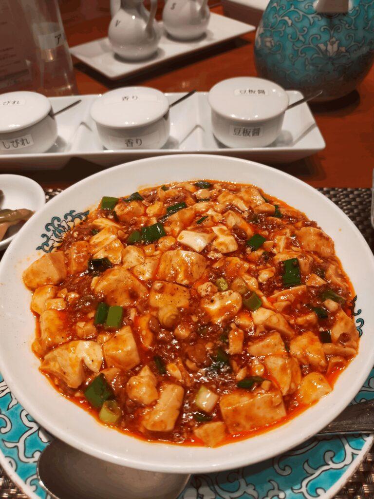 華都飯店-麻婆豆腐