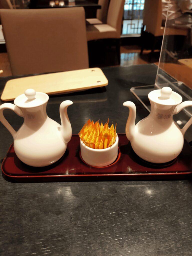 香港蒸龍-卓上調味料