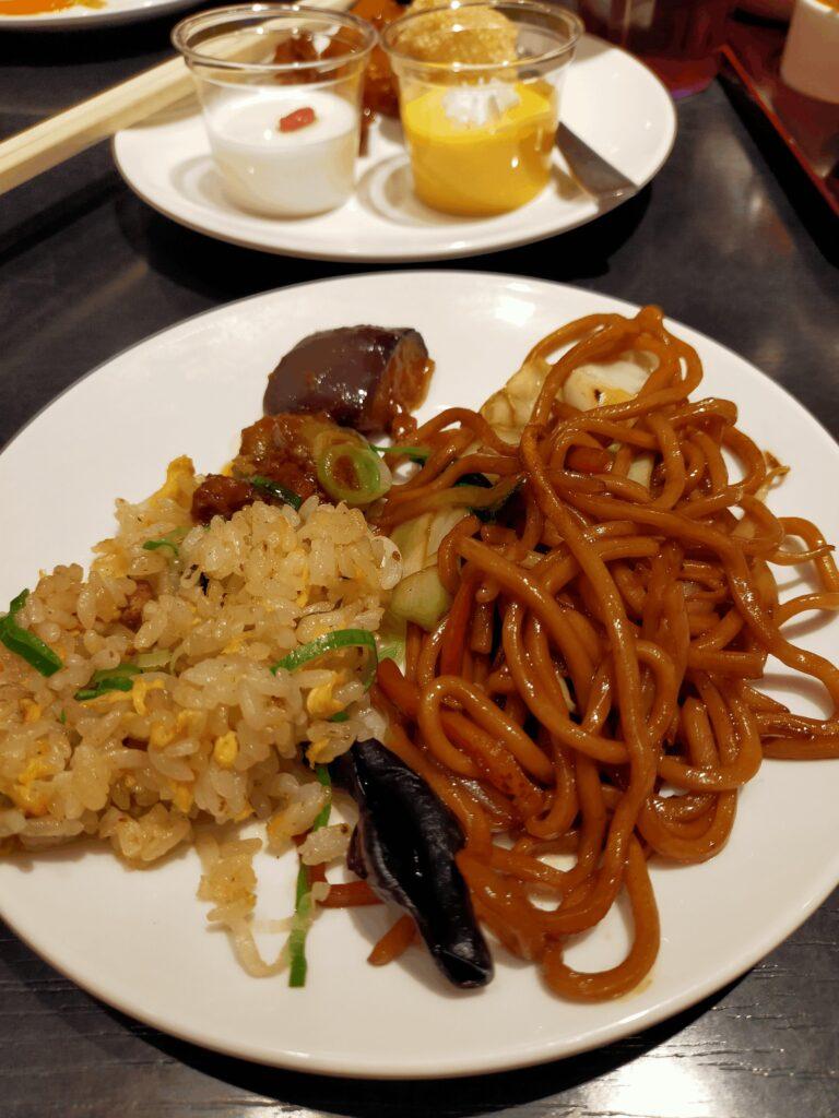 香港蒸龍-焼きそば,チャーハン,揚げナス